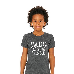 Portage & Main Kids Tee - Wild Is My Favourite Colour