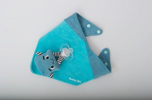 Buddy Bib Teething toy and bib