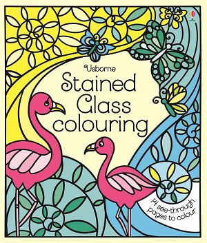 Usborne 'Stained Glass Colouring'